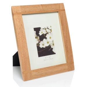 10x8 Natural wood photo frame