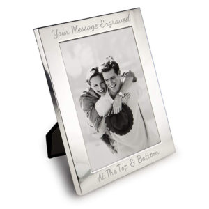 "6"" x 4"" Silver Plated Photo Frame"