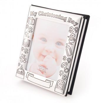 "ChristeningDayPhotoAlbum01 job 8516 350x350 - My Christening Day Photo Album For 72 x 4""x6"" Photographs"