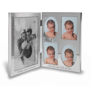 "5"" x 7"" Double Photo Frame"