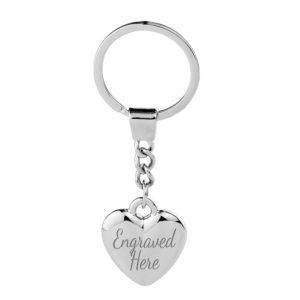 Heart Chain Keyring 300x300 - Heart Chain Keyring