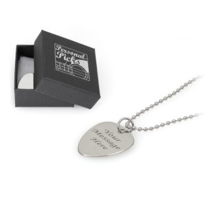 Plectrum Necklace With Ballchain