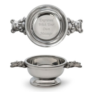 Teddy Handle Scottish Quaich Bowl