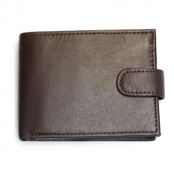 RFID Leather Wallet & Engraveable Tin