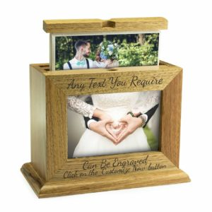 Wooden Box Frame Photo Album