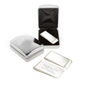 money chrome case 300x300 - Silver Money Clip In Luxury Chrome Case