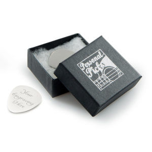 Personal Picks Plectrum in Black Box