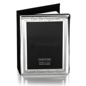 """Album Rounded Edge 2 300x300 - 6"""" x 4"""" Silver - 100 Photo Album / Frame"""