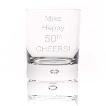 Whisky / Spirit Glass In Silk Lined Presentation Box