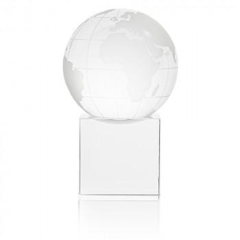 01 glass globe paperweight gift box 350x350 - Glass Cube Globe Award/Paperweight Presentation Box
