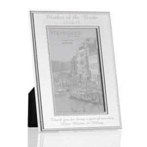4x6 beaded frame 03 1 300x300 - 4 X 6 Silver Plated Beaded Edge Photo Frame