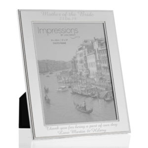 8x10 beaded frame 03 1 300x300 - Silver Plated Beaded Edge Photo Frames