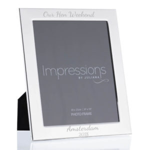 8x10 silver flat edge frame 03 1 300x300 - Silver Plated Flat Edge Photo Frames