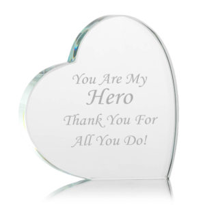 glass heart award 02 1 300x300 - Glass Heart Paperweight/Trophy/Award