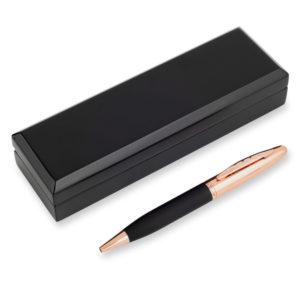 rose gold pen black gloss wooden box 05 300x300 - Luxury Rose Gold Pen In Black Wooden Box Pen