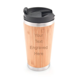 InsulatedBambooMug03 job 8586 3 300x300 - Bamboo Insulated Travel Cup/Mug