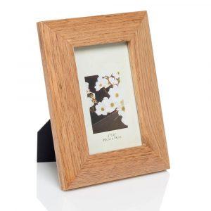 4'' x 6'' oak photo frame
