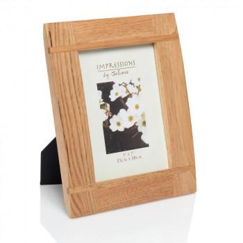 Natural wood photo frame