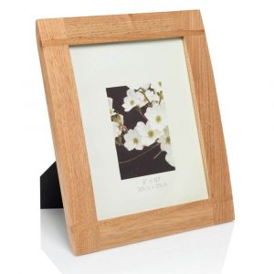 "8x10 natural wood frame 03 web 300x300 - 10"" x 8"" Natural Wood Photo Frame"