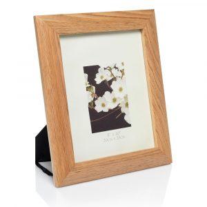 oak photo frame