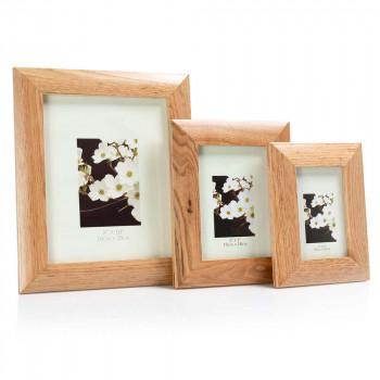8 x 10 Oak Natural Wood Frame