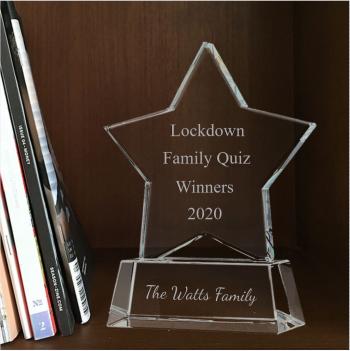 Lockdown quiz Award