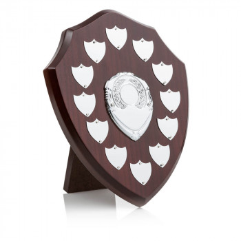 Perpetual annual shield trophy