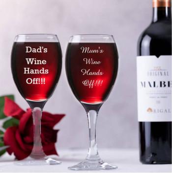 Double Wine Glass Gift Set