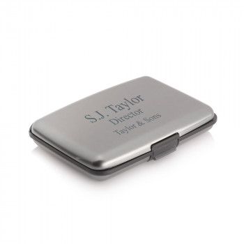 Personalised RFID Credit card holder