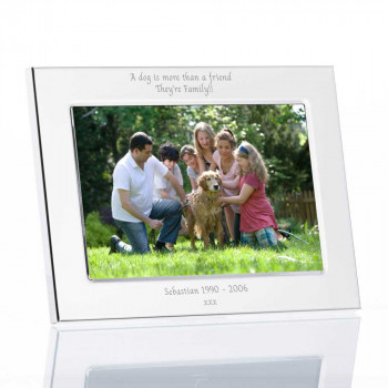 4x6 silver flat edge frame product landscape 350x350 - 4'' X 6'' Silver Plated Flat Edge Photo Frame