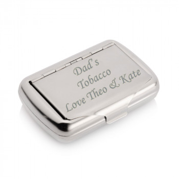 Dads Fathers day tobacco tin with papers holder