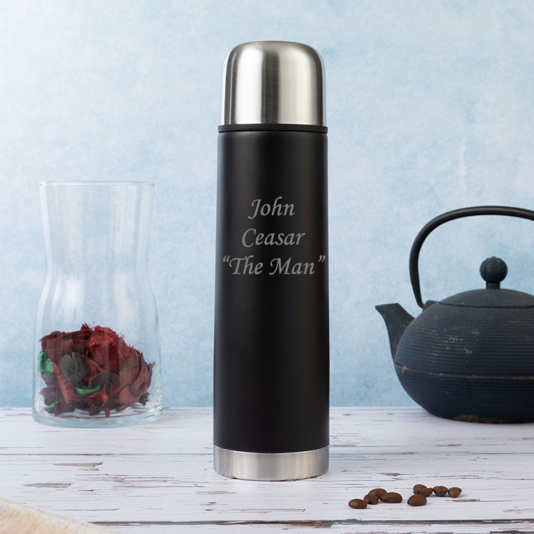 Two Tone Flask with Black body