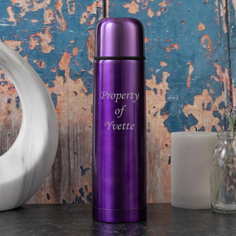Metallic Purple 500ml Thermo Flask