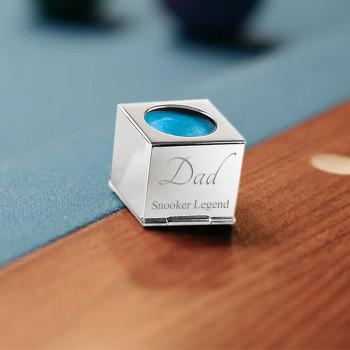 Snooker/Pool Legened Chalk With Steel Chalk Holder Design