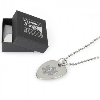 Medical ICE Plectrum ball chain Necklace